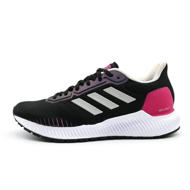 【ADIDAS】SOLAR RIDE W 黑 女 慢跑鞋(EF1444) - momo購物網