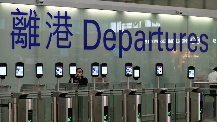 图为香港国际机场(图片来源:香港政府新闻网)