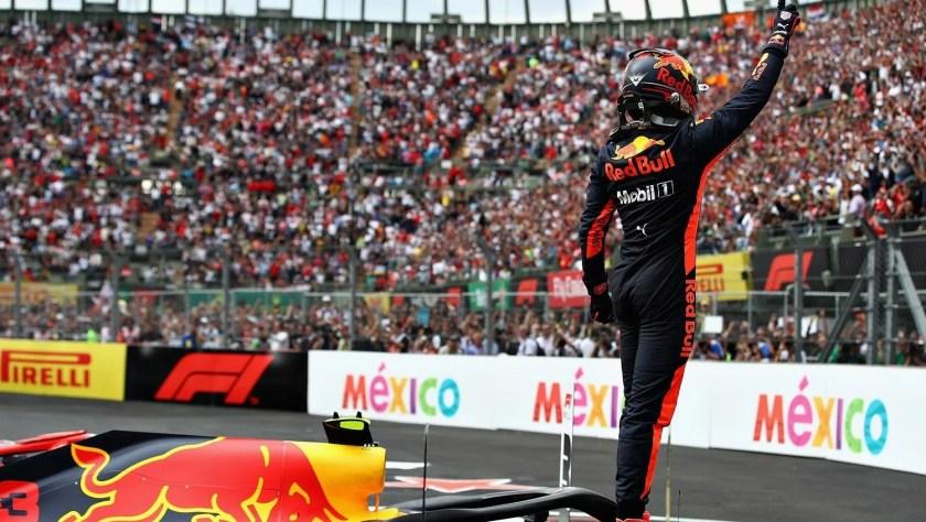 Risultati immagini per podio f1 mexico 2018