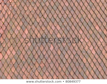 roof tile texture material of european