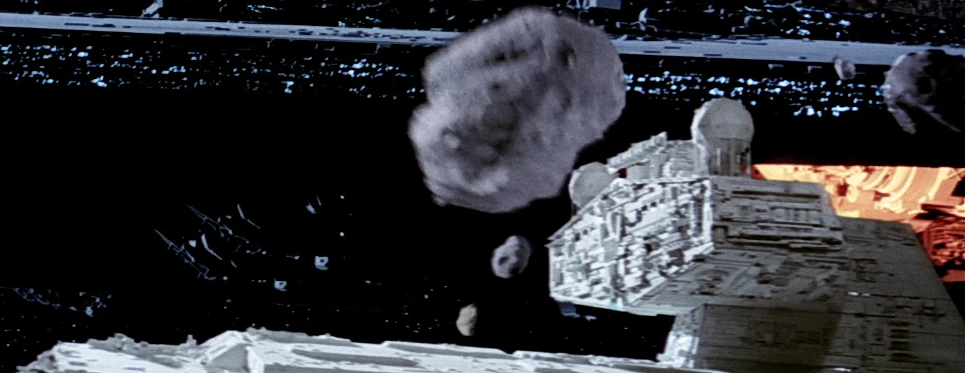 Unidentified Imperial II Class Star Destroyer Asteroid