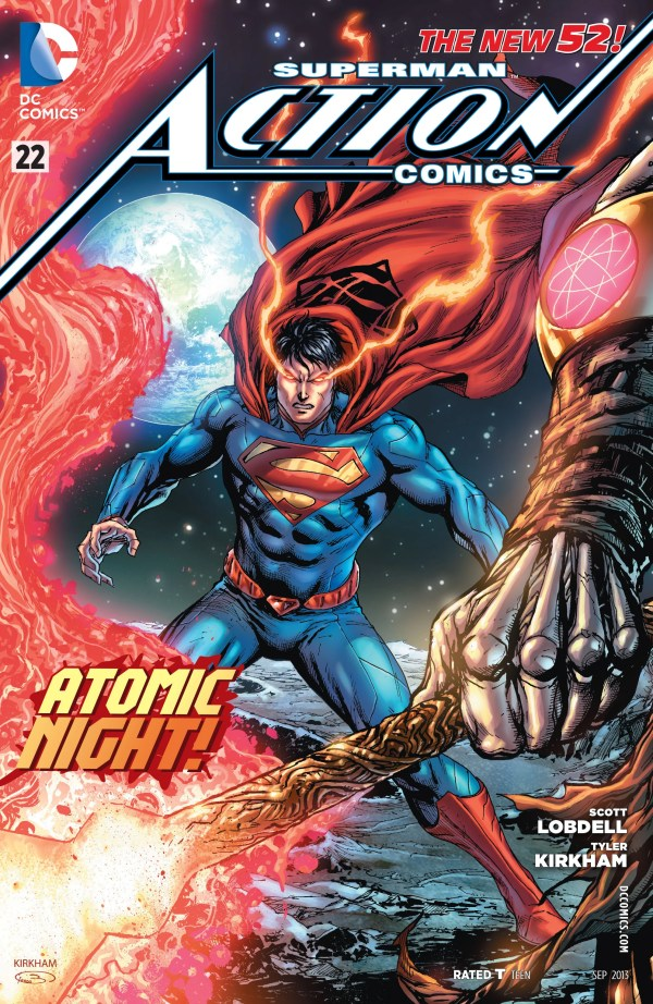 Cover for Action Comics #22 (2013)