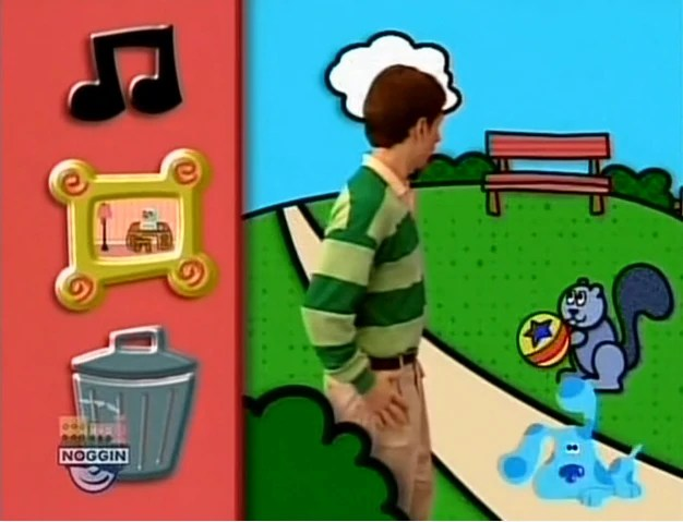What Did Blue See Blues Clues