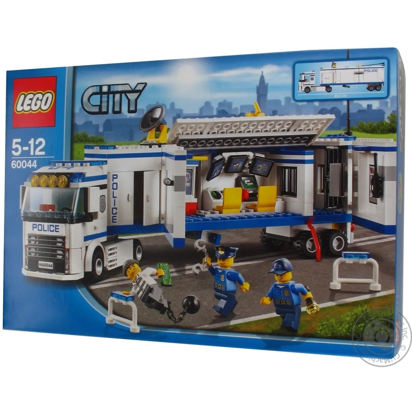 Construction toy Lego City Police Mobile Police Unit for 5 to 12     Construction toy Lego City Police Mobile Police Unit for 5 to 12 years  children 375 pieces