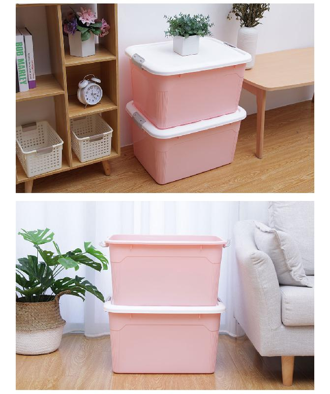Citylife Storage Container 55L Pink 13