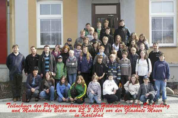 Eschenburg 2011 - žáci Eibelshausen Musikschule v Karlových Varech