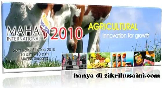 maha international, maha 2010, maha agriculture, cow, picture lembu, maersk