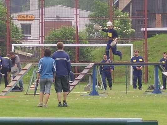 Okrsková soutěž 2007 Rusava