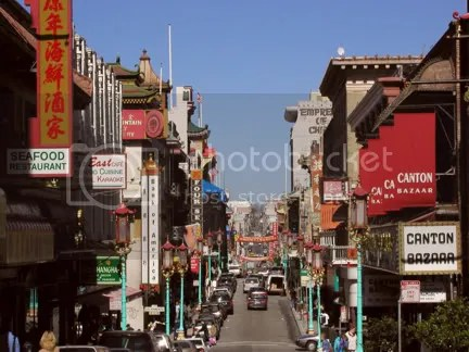 Chinatown on Grant Avenue