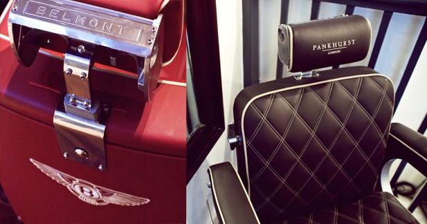 fauteuils bentley pour un barbier de luxe