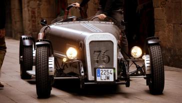 nos photos de la voiture électrique de luxe