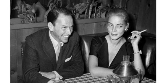 Image result for bacall and sinatra