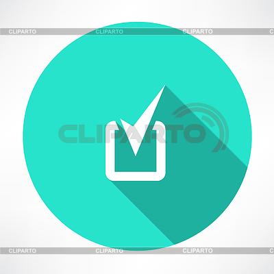 Галочка значок | Векторный клипарт | CLIPARTO