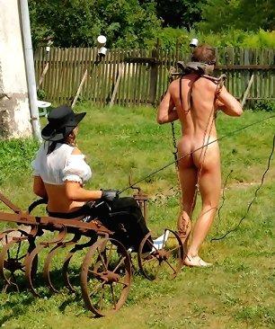 femdom male slave nude