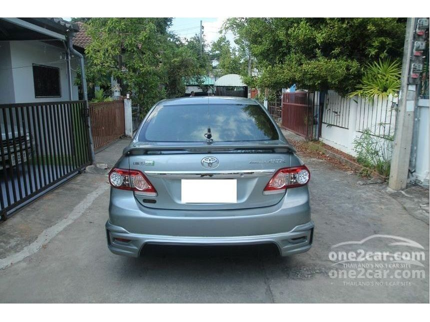 Toyota Corolla Altis 2011 Cng 1 6 In ภาคเหนือ Automatic