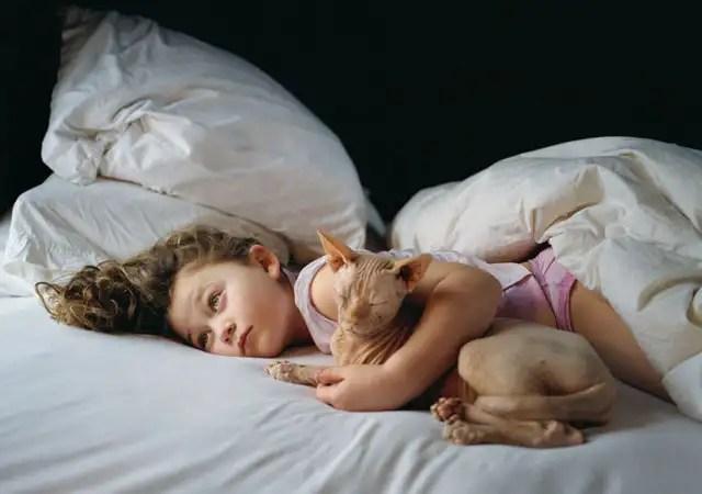 hijaderobinschwartz - La fotógrafa Robin Schwartz muestra la conexión de su hija con animales de todo tipo