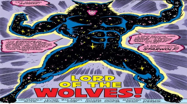 Remember that time Captain America was a werewolf