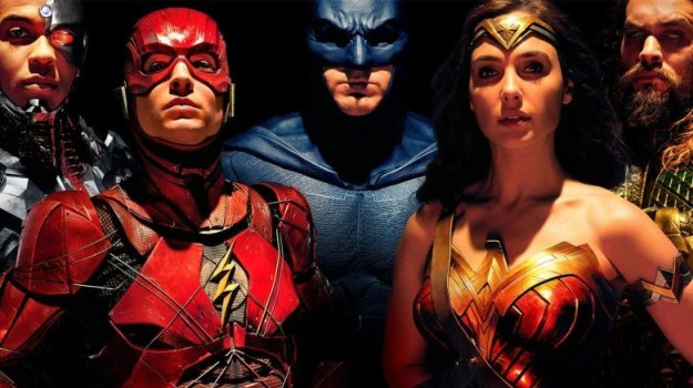 Promo shot of the Justice League actors
