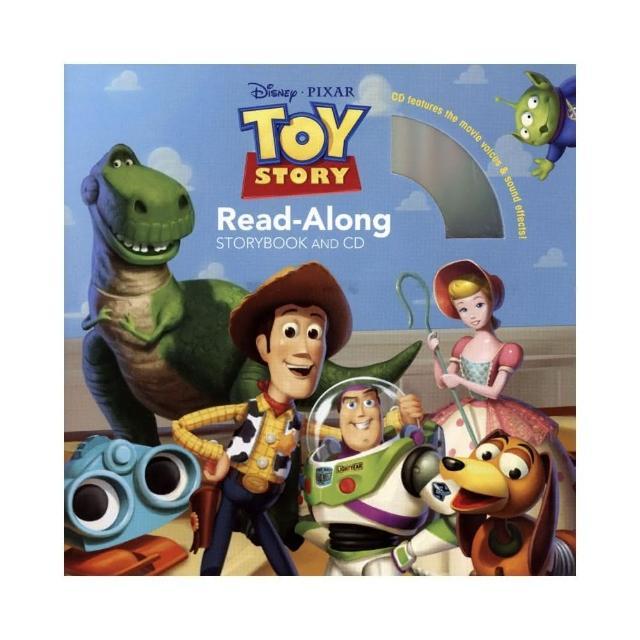 【麥克兒童外文】Toy Story 1/玩具總動員1英文繪本+朗讀CD