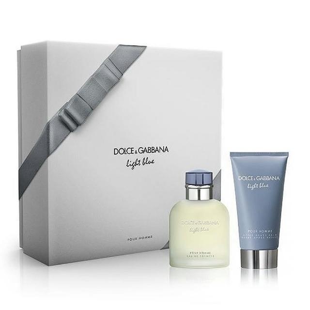 【DOLCE&GABBANA 杜嘉班納】D&G Light Blue 淺藍男性淡香水(75ml 禮盒 線上逛百貨)