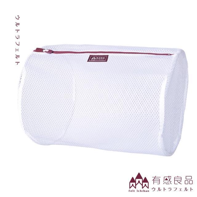 【有感良品】圓柱洗衣袋-30*42CM(荒目款)