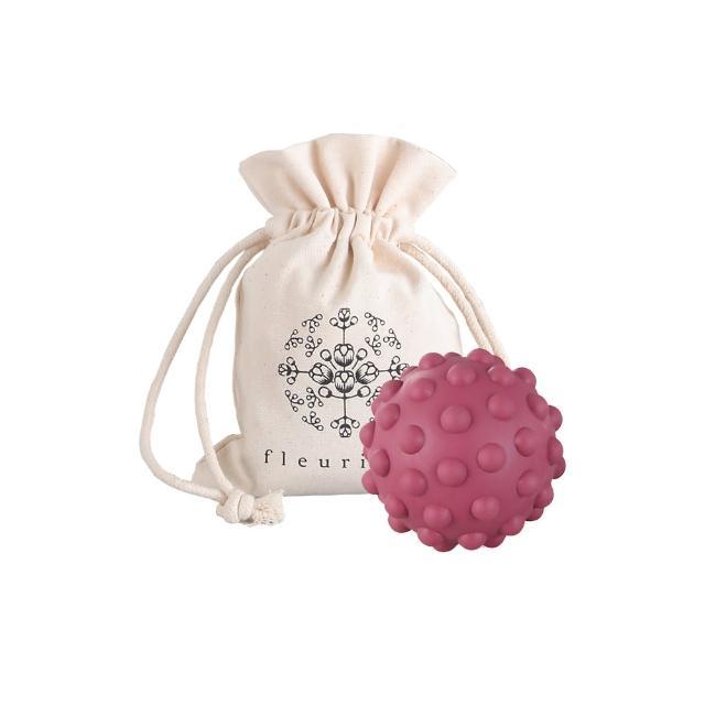 【Fleurient】舒壓按摩球- 圓形/筋膜球1顆-附收納袋