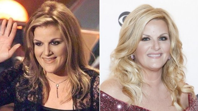 country star Trisha Yearwood then and now