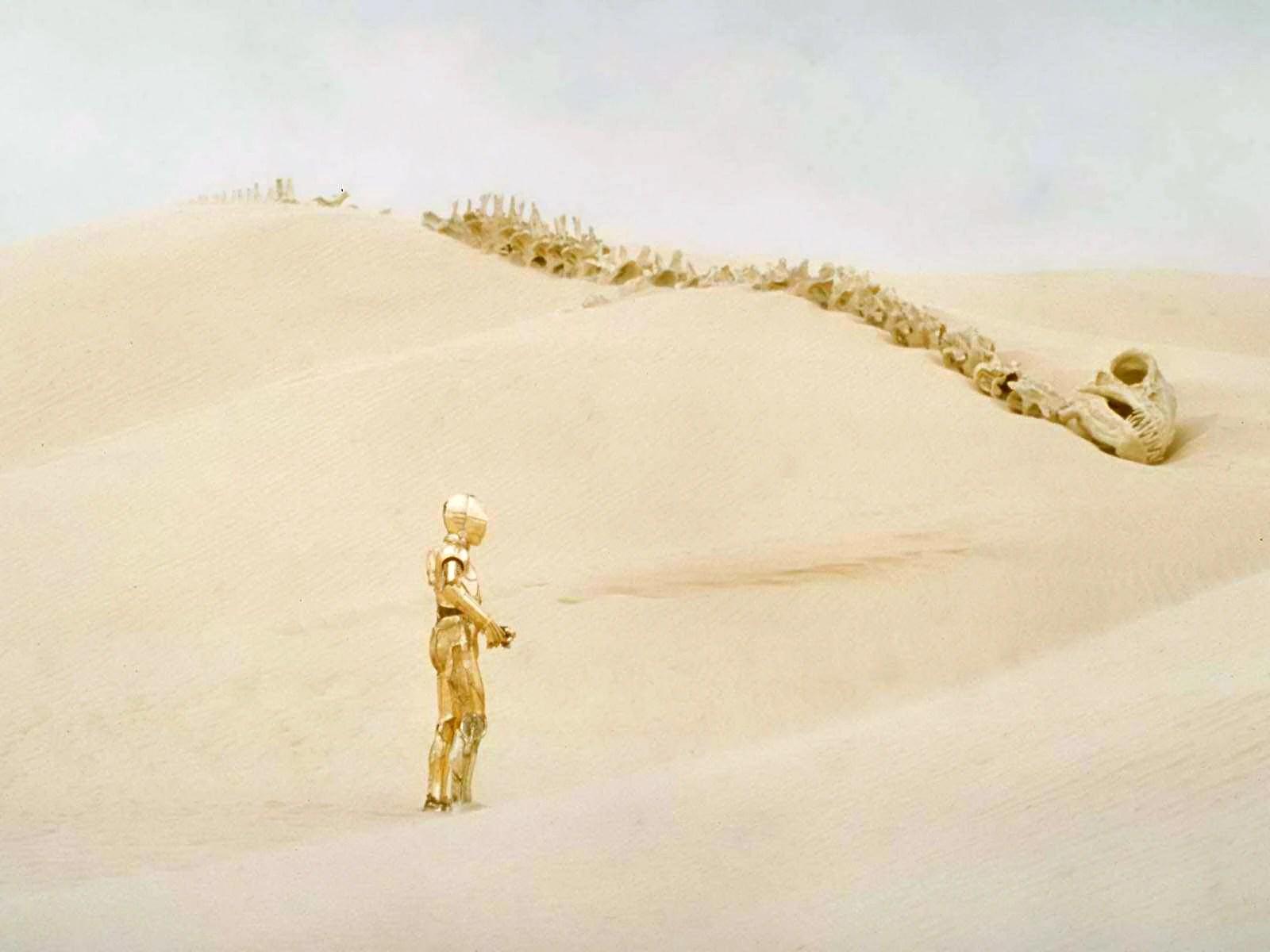 Star Destroyer Crashes on Tatooine Crashed Star Destroyer…