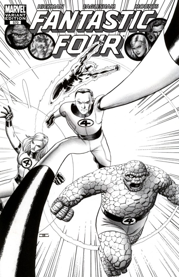 fantastic four coloring pages # 40