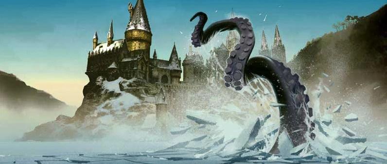 Hogwarts Giant Squid Harry Potter Wiki