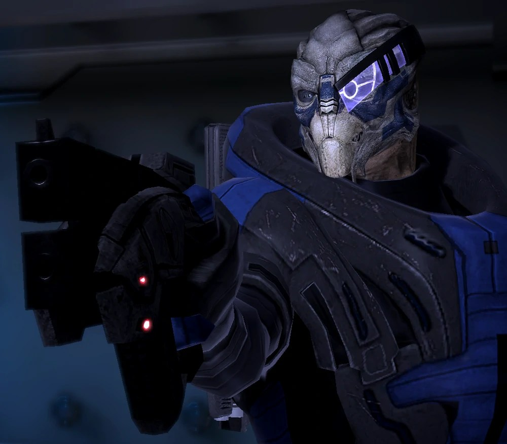 shut up, Garrus