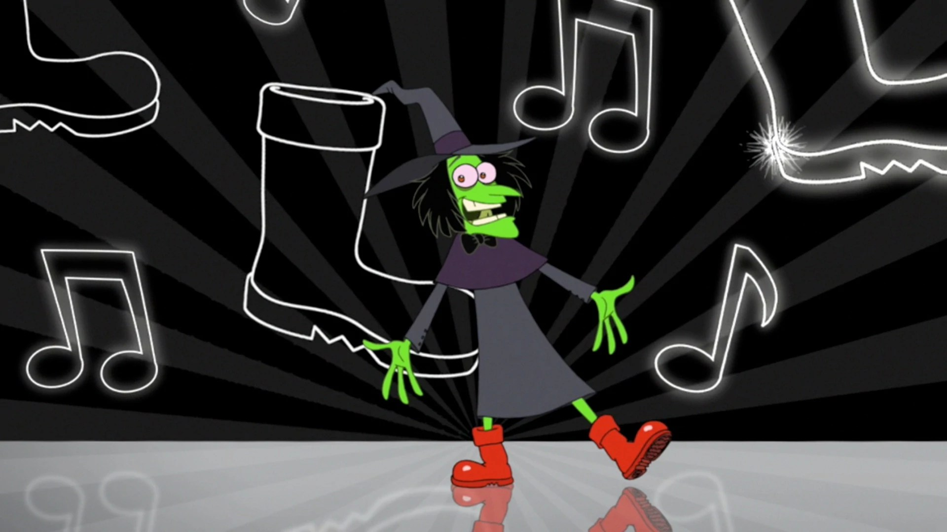 Picture of Dr. Doofenshmirtz as the Wicked Warlock, from Phineas and Ferb, episode