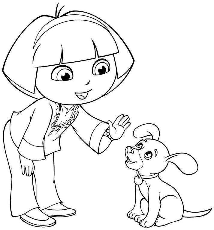 image  cartoondoratheexplorerandfriendscoloring