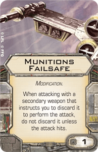 Munitions-failsafe