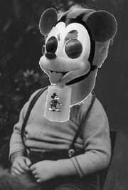 Mouse gas mask