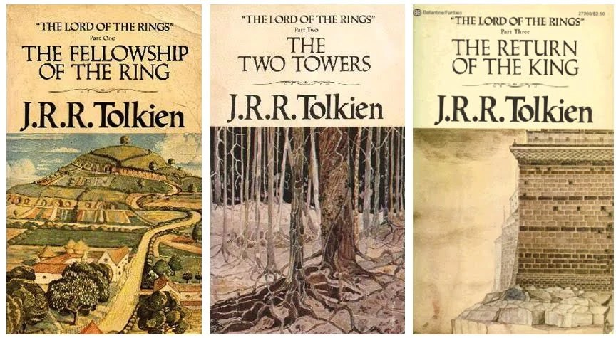 Αποτέλεσμα εικόνας για the lord of the rings trilogy books