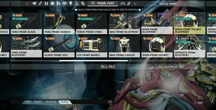 PS4 WTS RARE MODS AND PRIME STUFF WARFRAME Wiki