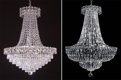 Decorative Chandelier, lámparas de cristal