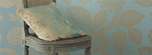 Sanderson, papel pintado y textil