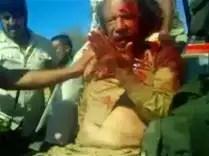 noticias Gadafi fue sodomizado con un palo antes de ser tiroteado en el vientre asesinado