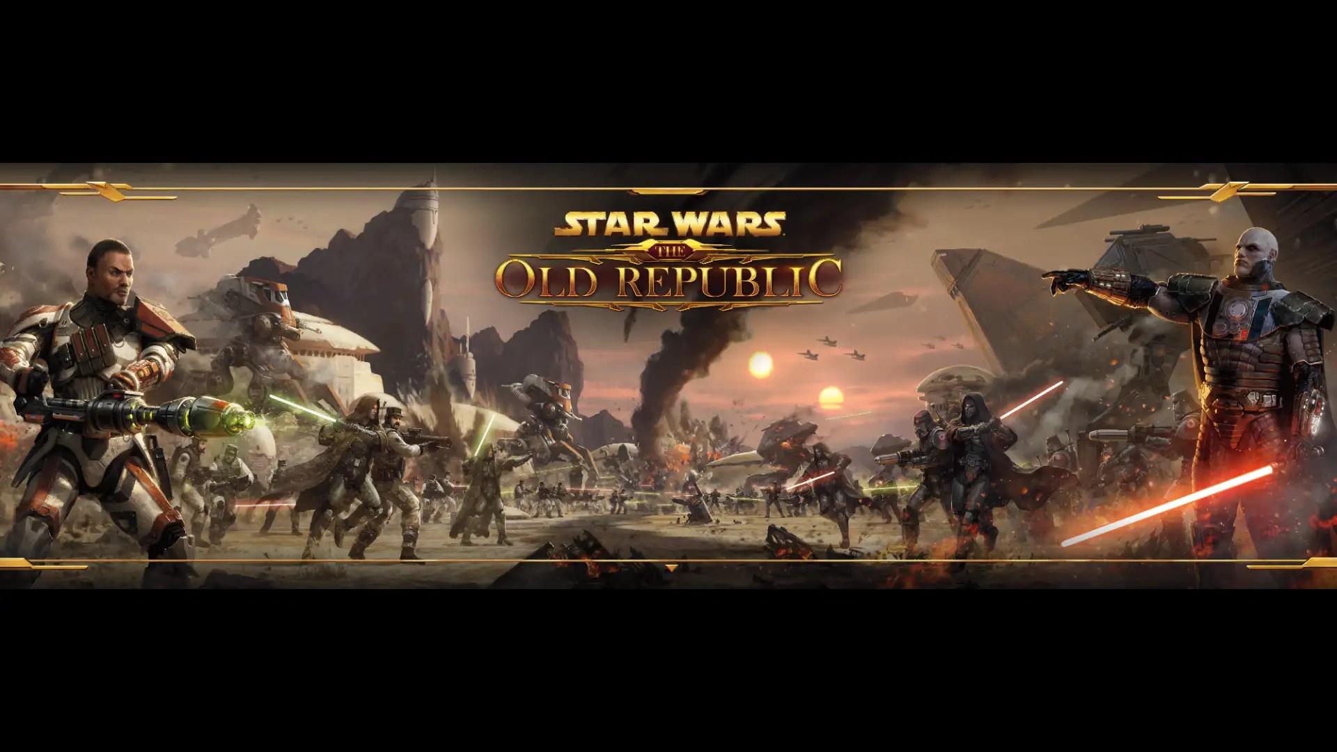 Star Wars The Old Republic Wallpaper Dark And Light Side Battle