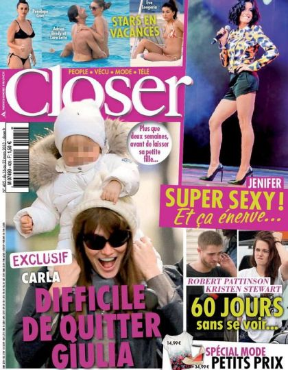 Closer N°405 du 16 au 22 Mars 2013