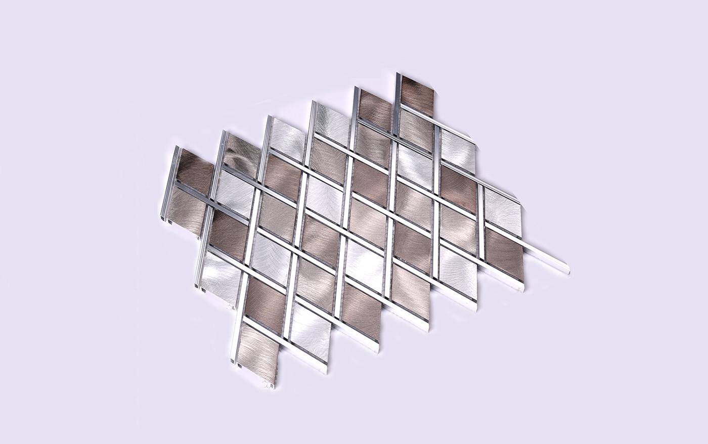 find metal mosaic black metallic mosaic