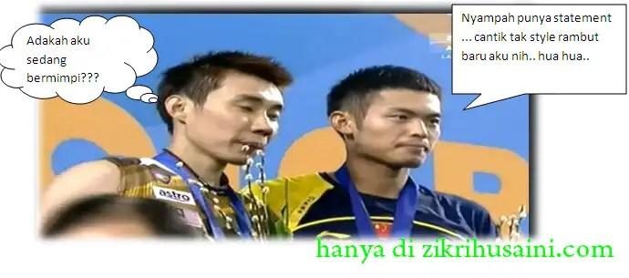 lee chong wei vs lindan 2012, gambar lee chong wei menang juara terbukan korea 2012,