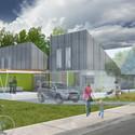 Casa projetada por El Dorado Inc.. Cortesia de Make It Right