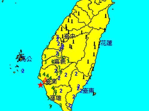 台湾南部・台南で震度6  余震相次ぐ | 社会 | 中央社フォーカス台湾