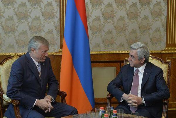 Президент Армении обсудил с генсеком ОДКБ учения «Кобальт ...