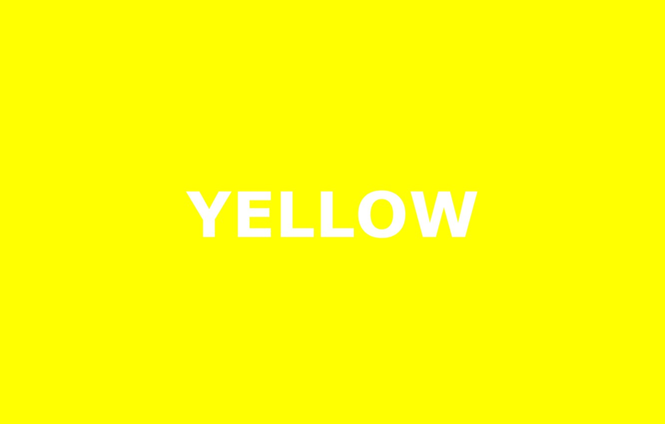 Wallpaper Letters Yellow Background Yellow The Word