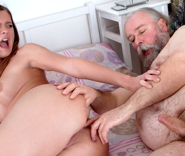 Young Alyona  Sample Photo In Oldyounganal Porn Set