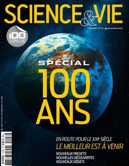 Science & Vie N°1147 Avril 2013